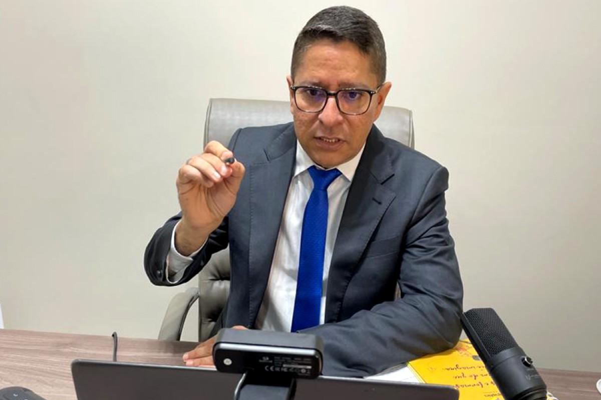 Requerimento de Ricardo Marques pede mais informações sobre suposto desvio de dinheiro da Secretaria da Saúde de Aracaju (Foto: Assessoria Ricardo Marques/ Navarro Comunicação)
