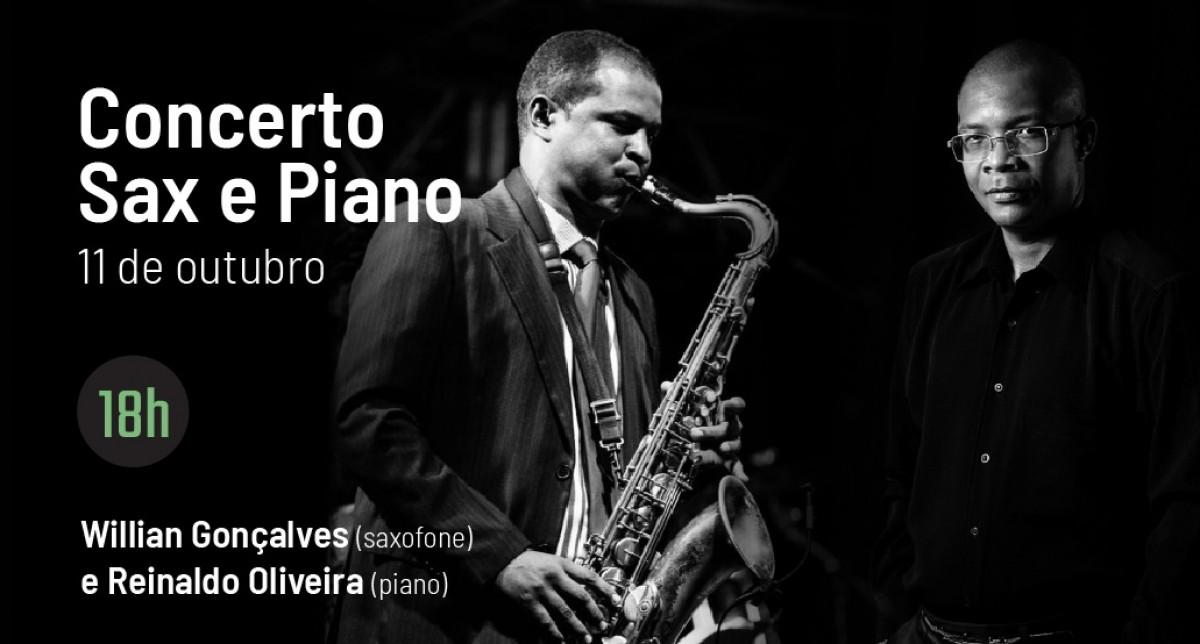 Sesc Partituras apresenta duo de sax e piano (Imagem: Divulgação/ Sesc/SE)