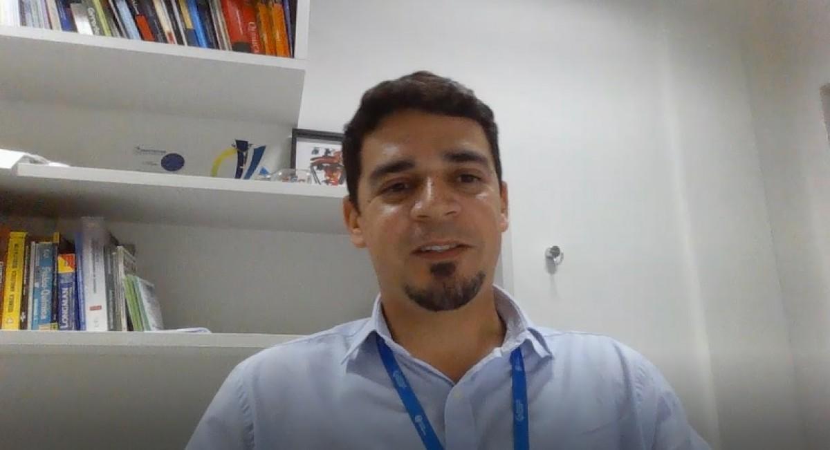 Ranyere Lucena, pesquisador e professor da Unit (Foto: Assessoria de Imprensa Unit)
