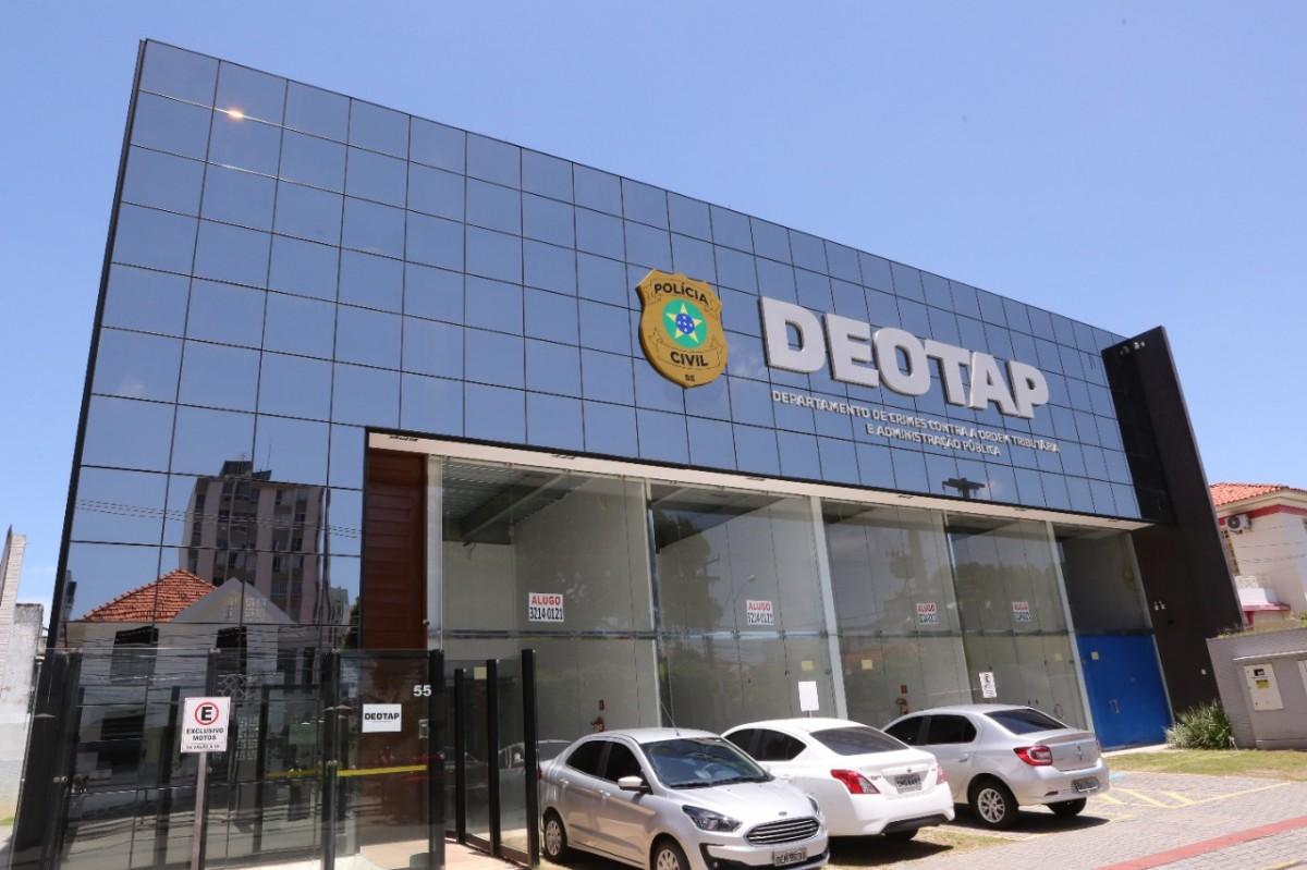 Deotap instaura 40 inquéritos e tenta restituir R$ 62 milhões devidos em ICMS em Sergipe (Foto: SSP/SE)