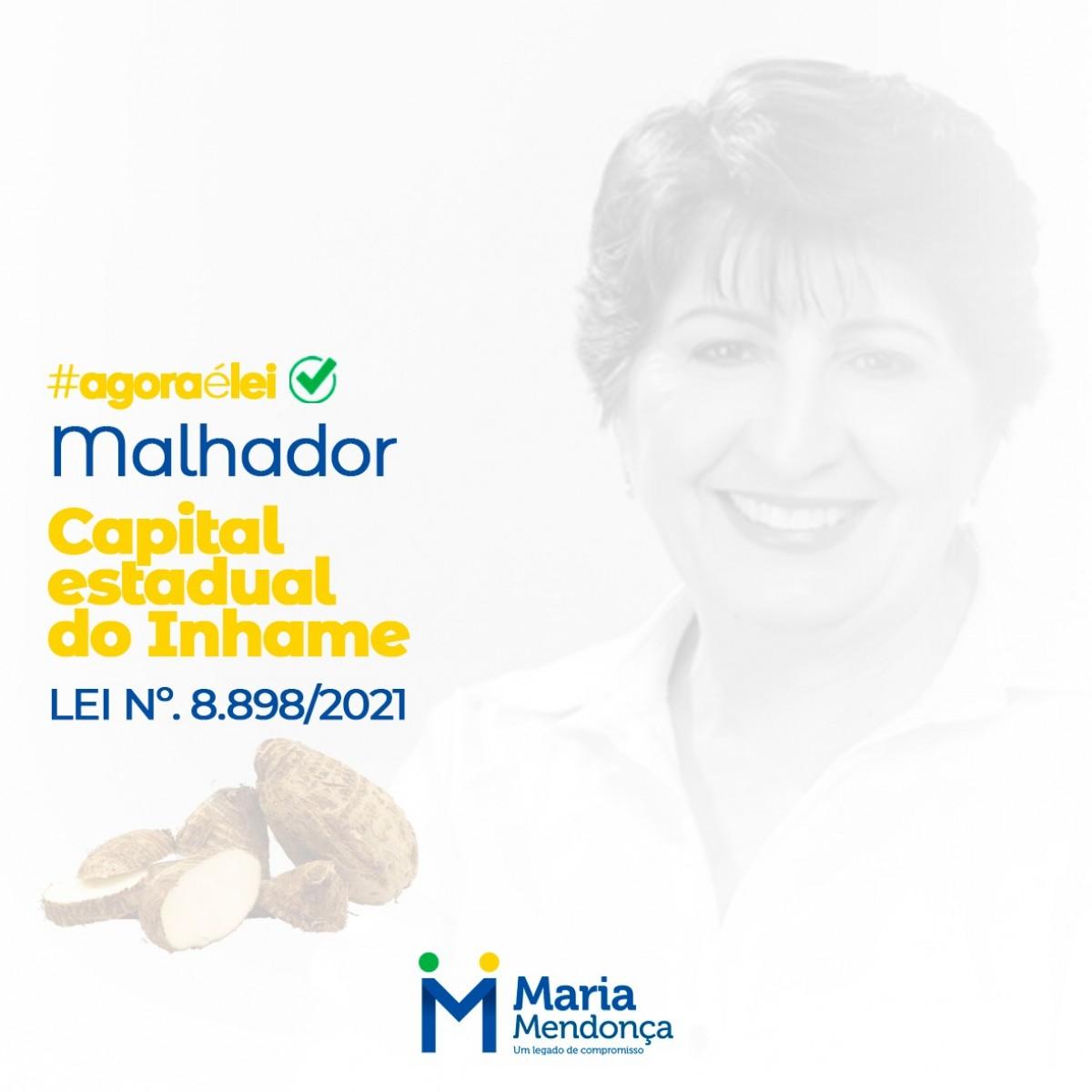 """Malhador é, oficialmente, a """"Capital Estadual do Inhame"""" (Imagem: Assessoria Maria Mendonça)"""