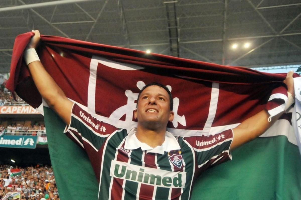 Com uniforme de algoz, Washington Coração Valente estreia hoje na FF Libertadores (Foto: Assessoria Washington Coração Valente)