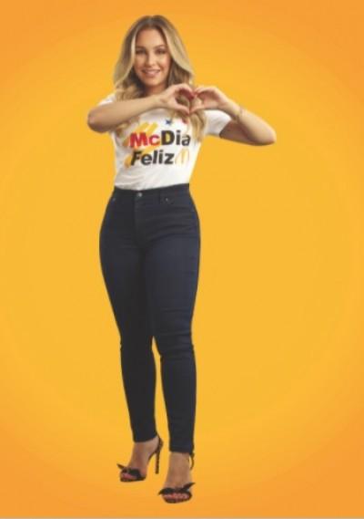 Este ano, o McDia Feliz conta com Carla Diaz como embaixadora (Imagem: Divulgação)