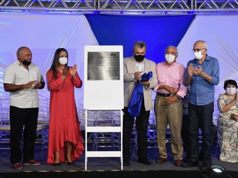 Inauguração da Galeria de Arte Cícero Alves dos Santos (Foto: Ana Lícia Menezes/ PMA)